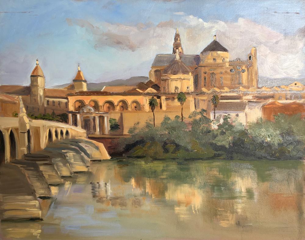 Roman Bridge to the Mesquita, Cordoba