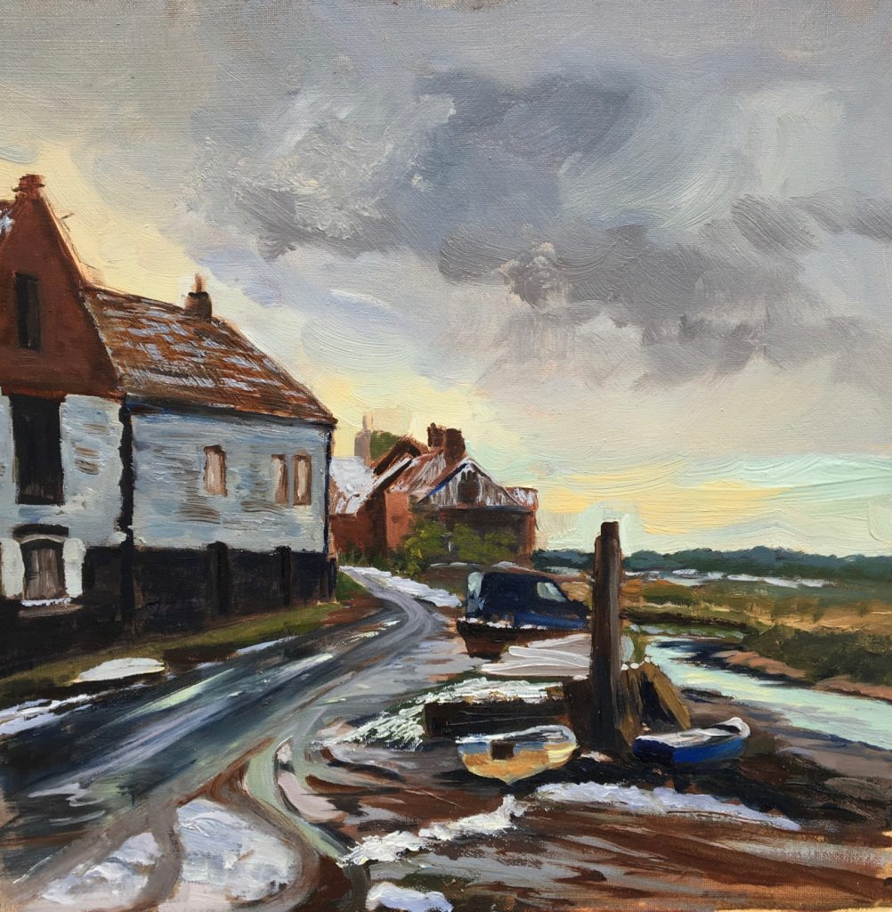 After Snow, Burnham Overy Staithe
