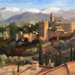 Evening Light, Alhambra Palace