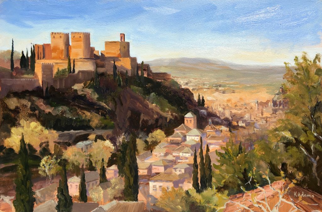 Morning Light, Alhambra Palace