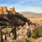 Morning Light, Alhambra Palace