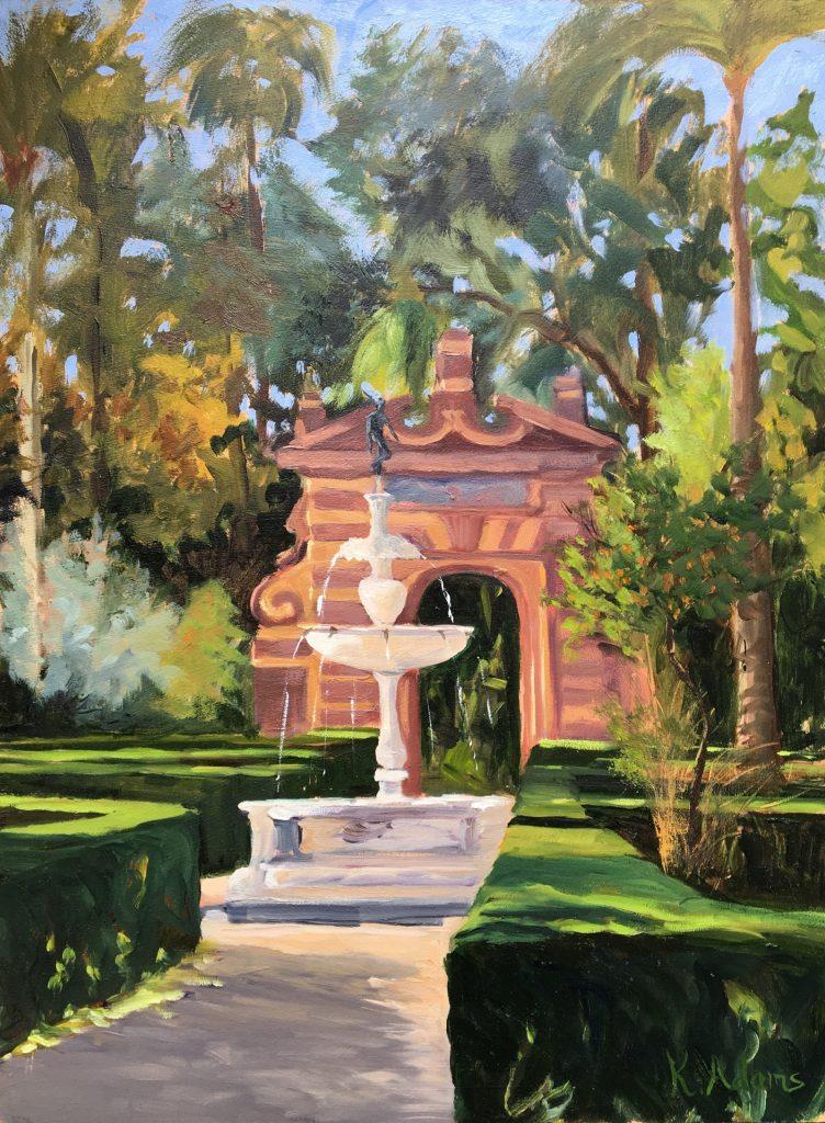 Real Alcazar Gardens, Seville