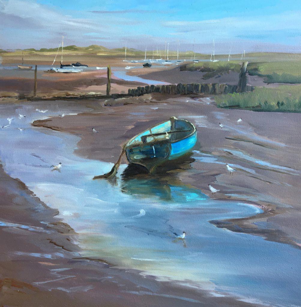 Blue Boat, Brancaster Staithe