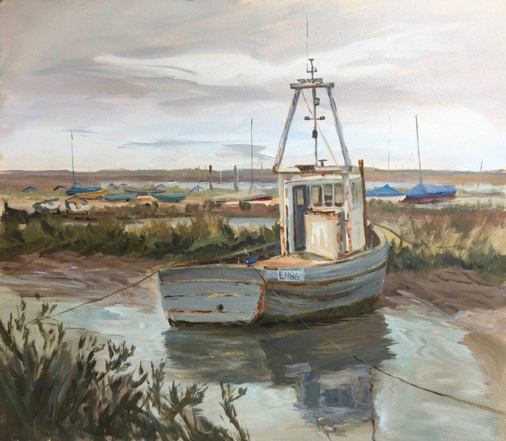 Grey Boat,Brancaster Staithe