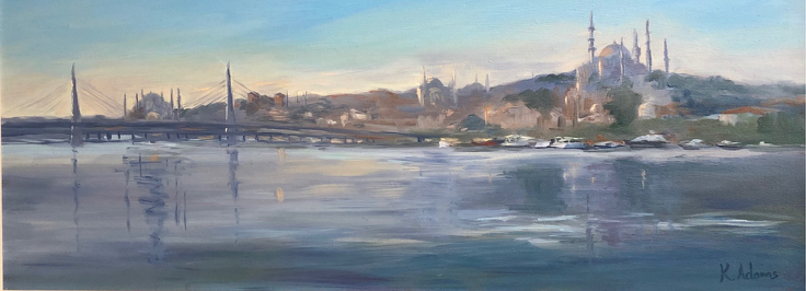 Sunrise on the Golden Horn, Istanbul