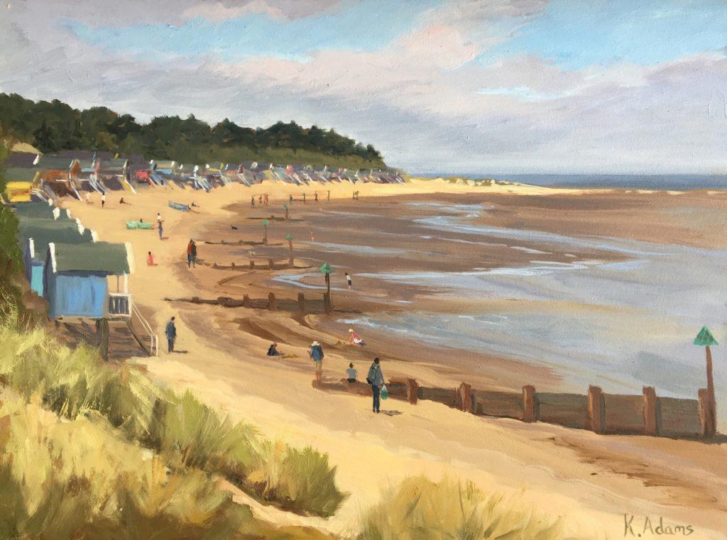 Wells Beach from the Coast Watch