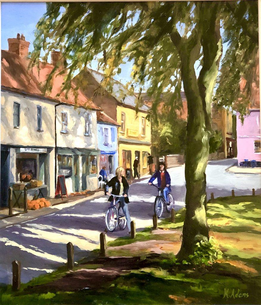 Cycling through Burnham Market