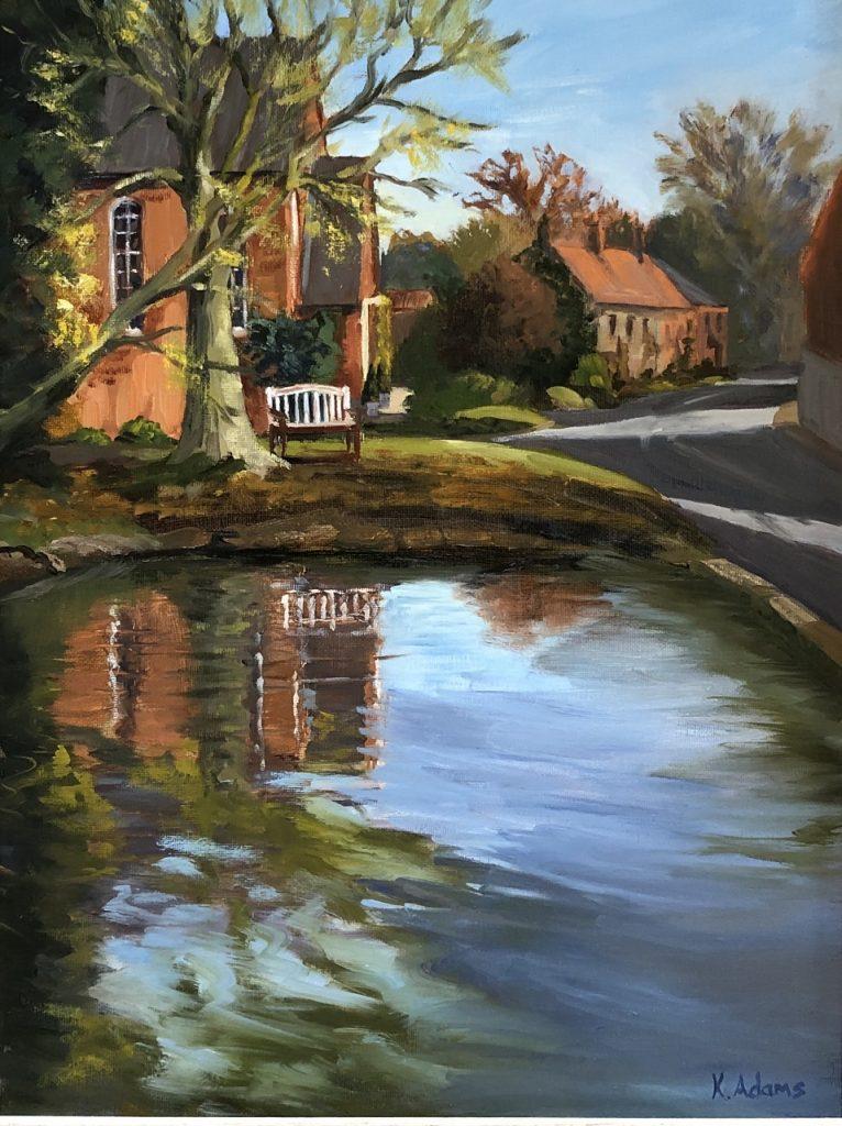 The Pond, North Creake