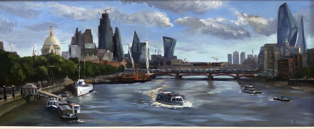 The City from Waterloo Bridge