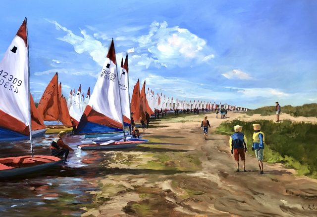 SOLD - Toppers & Mirrors, Brancaster Week