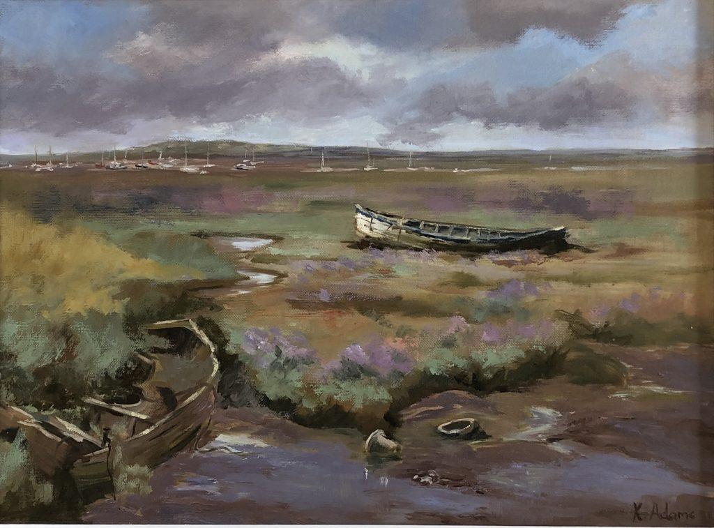 Broken Boats, Brancaster Staithe