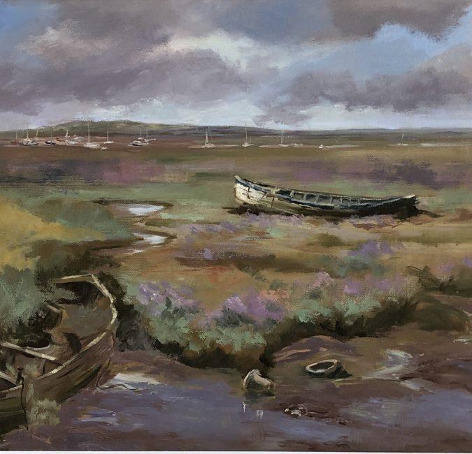 SOLD - Broken Boats, Brancaster Staithe