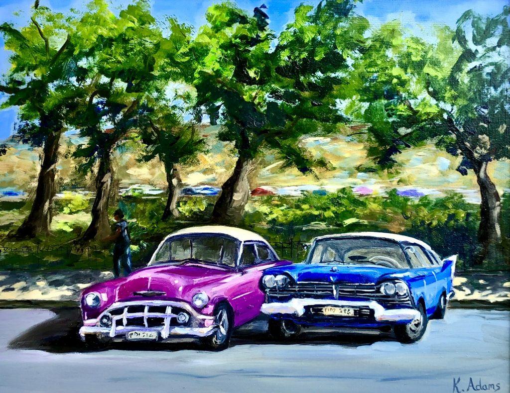 Chevrolet & Dulce in Old Havana