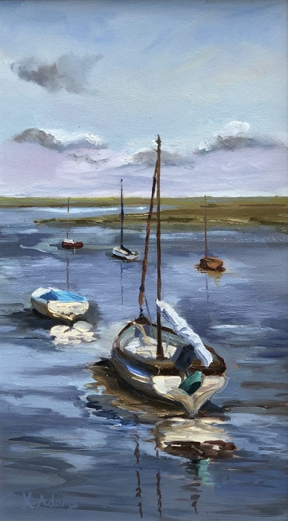 High Tide, Overy Staithe