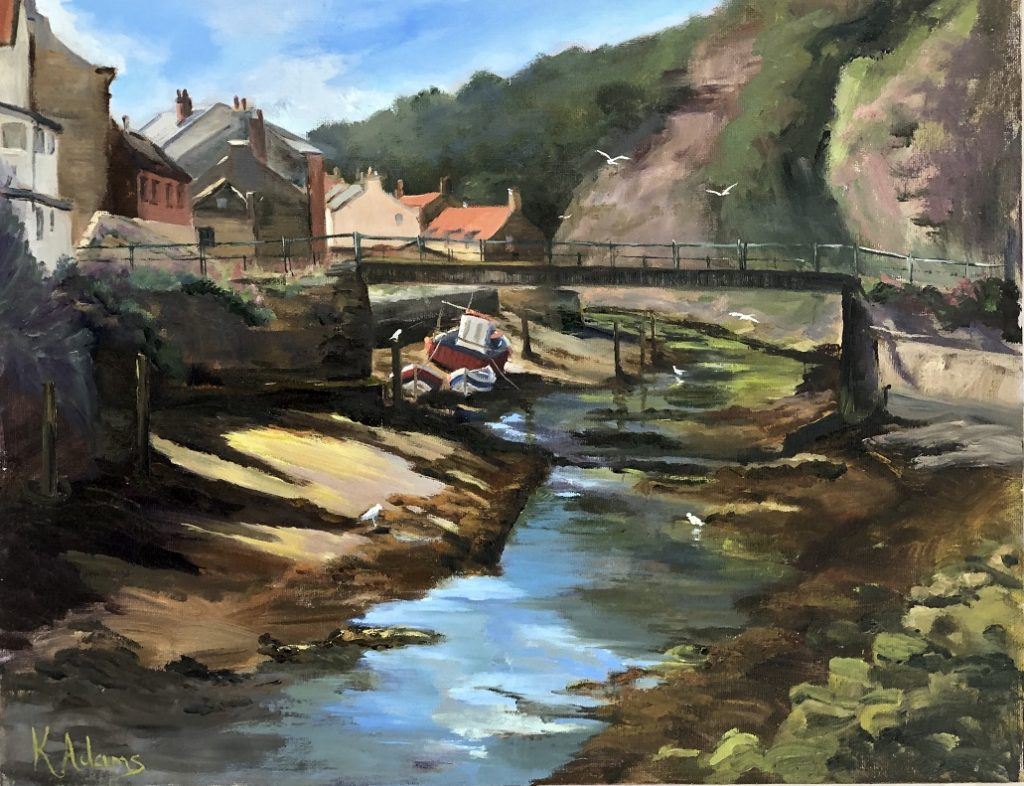 The Beck - Staithes
