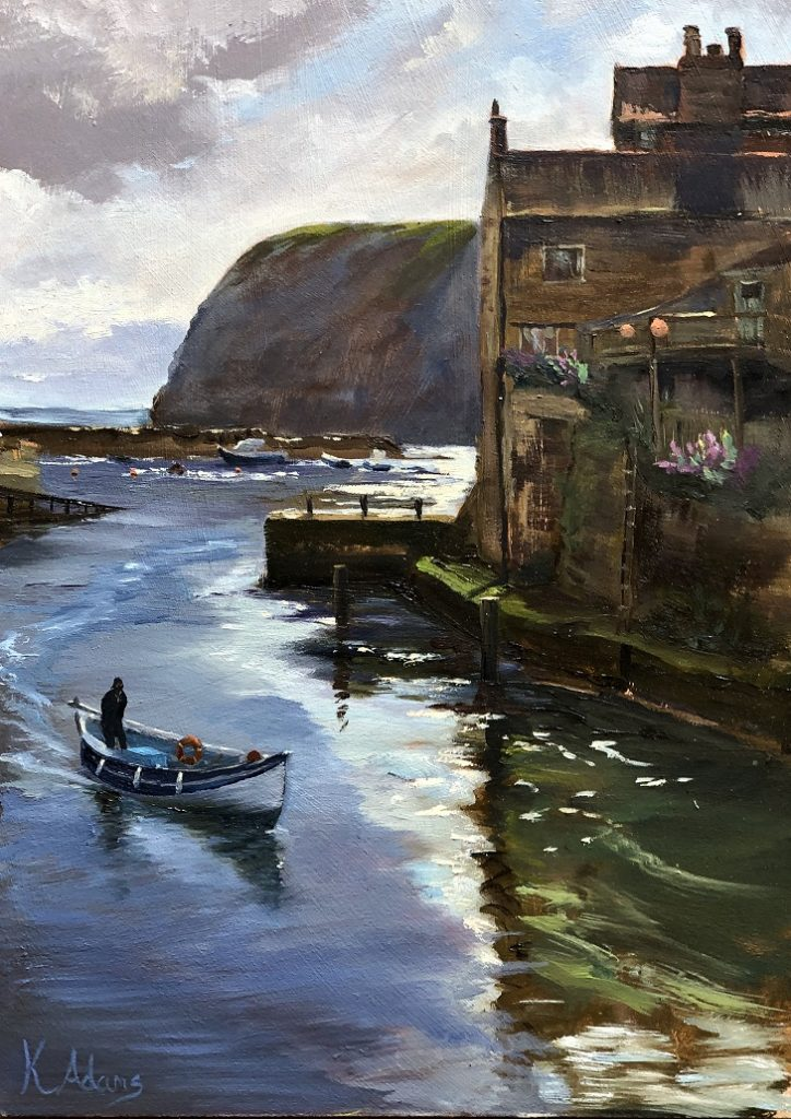 Morning Reflections - Staithes