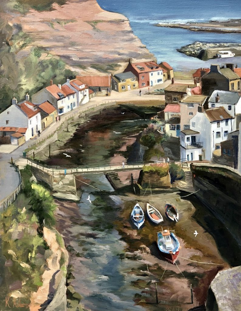 From The Cowbar - Staithes