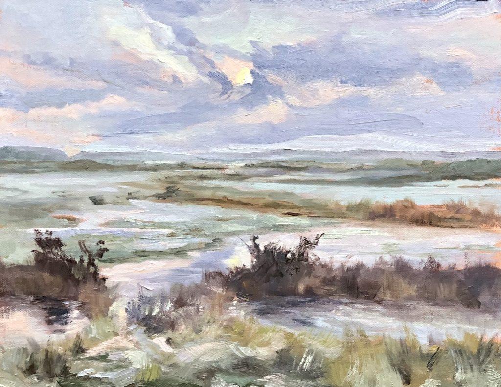 Frozen Water Meadow