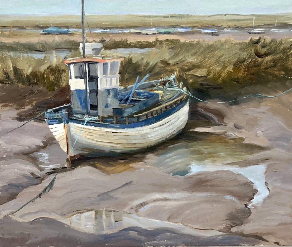 Fishing Boat - Brancaster Staithe